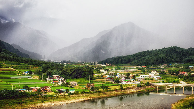 Pyeongchang countryside