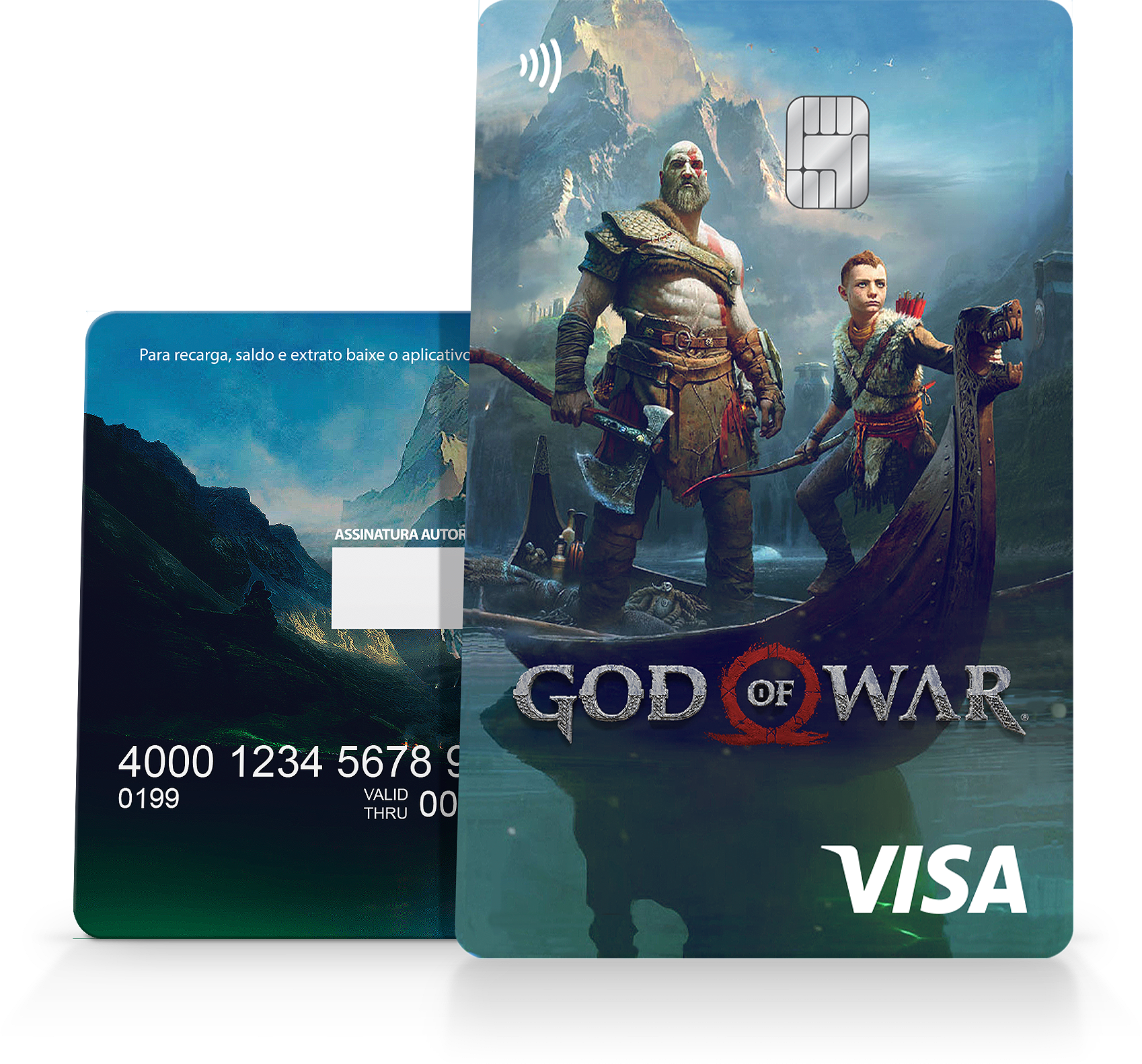 God Of War Card