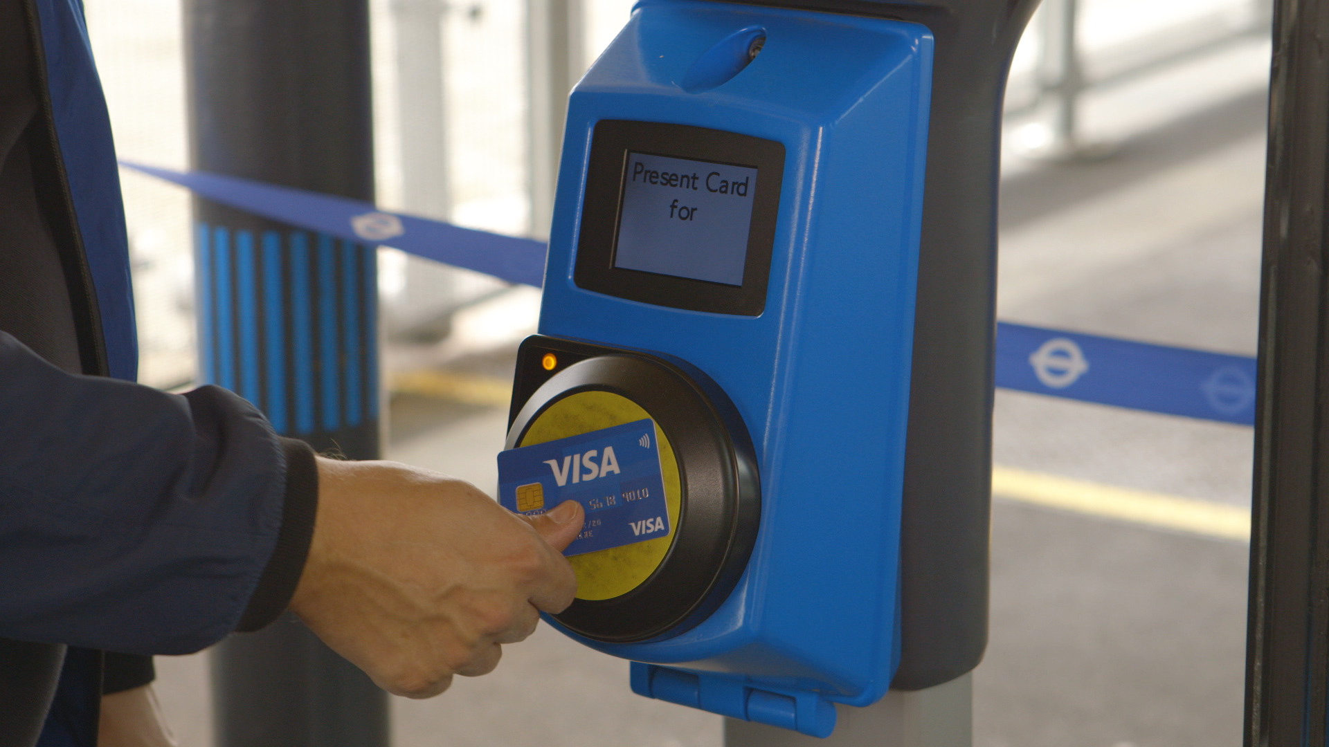 Visa Touch to Pay