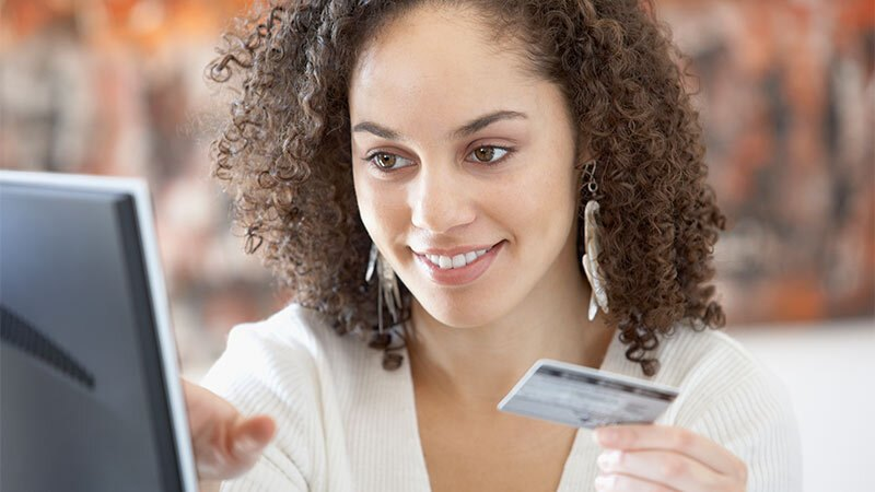 Young women online payment
